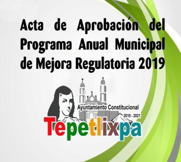 Aprobacion Acta PAMR2019